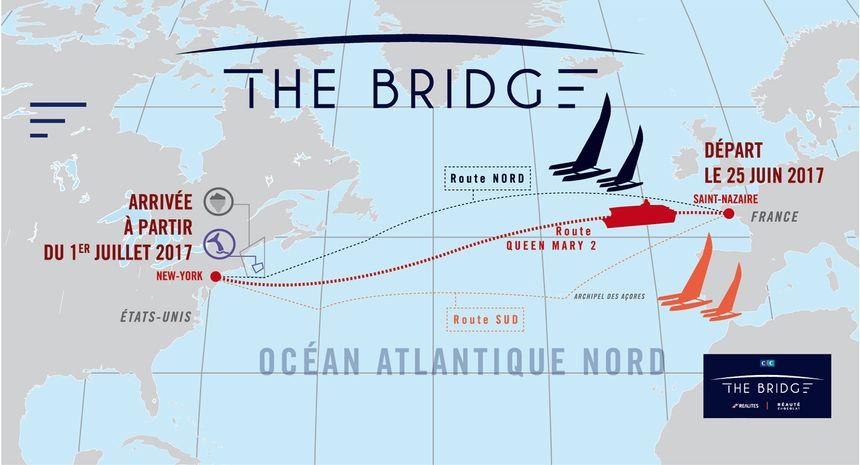 Le parcours du Queen Mary 2 vers les Etats-Unis