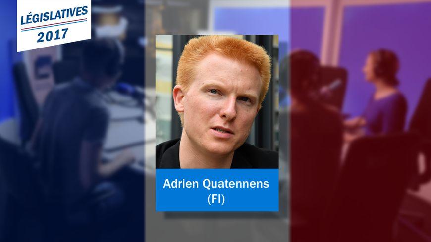 Adrien Quatennens est le nouveau député La France insoumise de la 1re circonscription du Nord