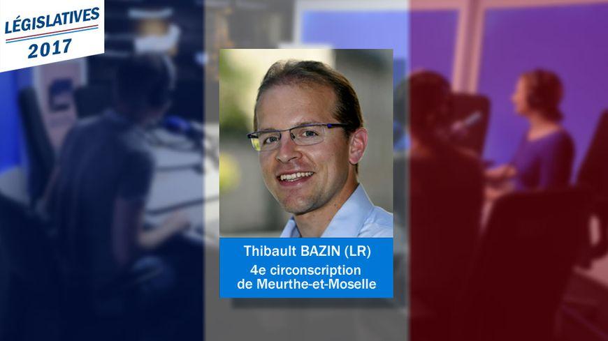 Un nouveau député pour la 4e circonscription de Meurthe-et-Moselle : Thibault Bazin, Les Républicains.