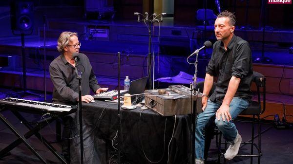"""Duo Xavier Garcia et Lionel Marchetti, enregistré à Radio France pour """"A l'improviste"""""""