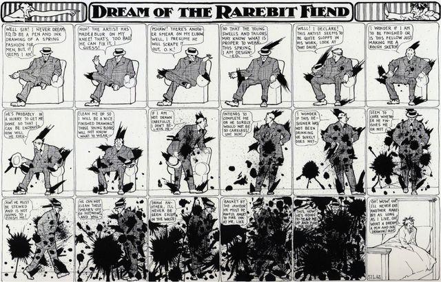 Dream of a rarebit friend d'avril 1909