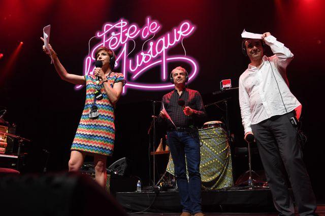 Une fête de la musique à l'Olympia,  six heures de direct présentés par Rebecca Manzoni, Didier Varrod et Michka Assayas
