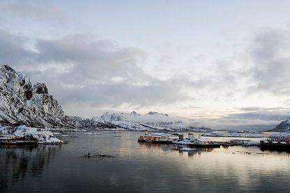 Forage de pétrole en Norvège
