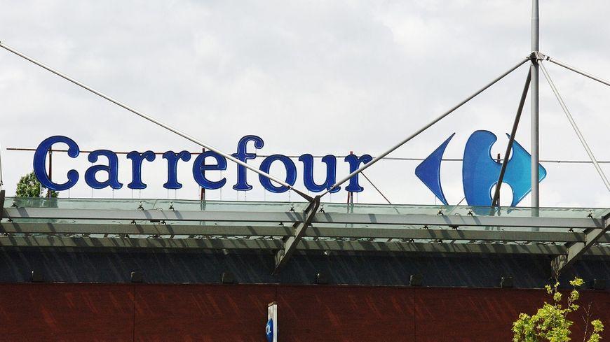 L'enseigne Carrefour