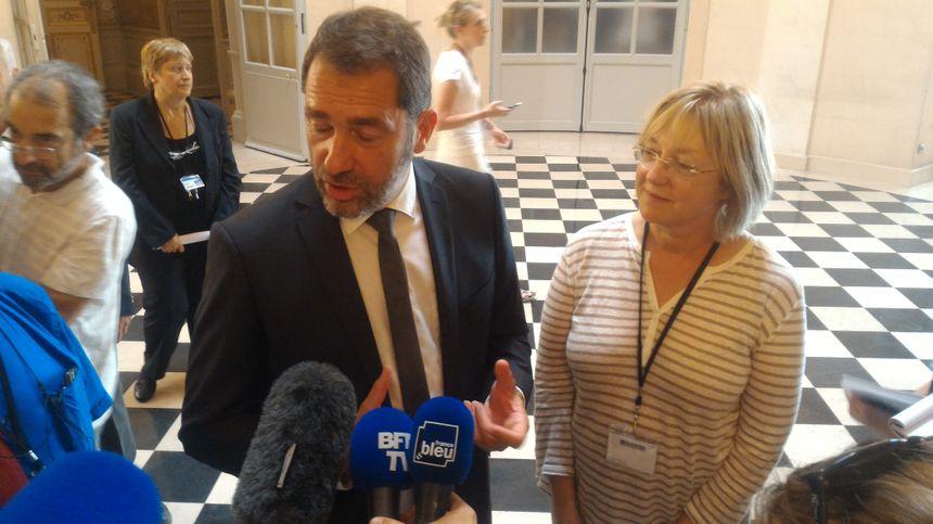 Et croise Christophe Castaner, le porte-parole du gouvernement, pour quelques conseils