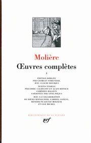 Couverture des Œuvres Complètes de Molière - éditions Gallimard