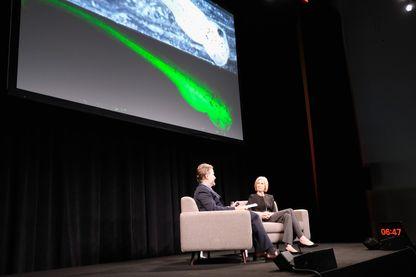 Jennifer Doudna, co-inventeur de la technologie CRISPR-CAS9, la présente à New York chez Spring Studios le 7 juin 2017