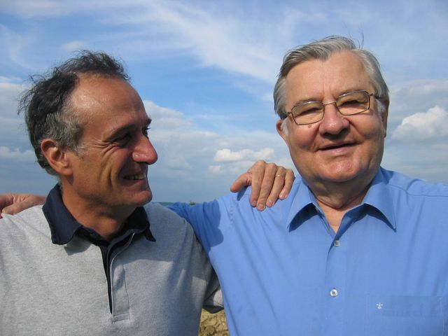 Denis Cheissoux et Jean-Marie Pelt
