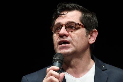 Olivier Py lors de la Conférence de presse du 71e Festival d'Avignon - 22 mars 2017, Avignon