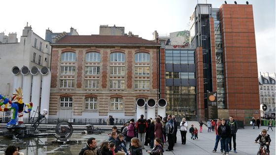 L'Ircam, place Igor Stravinsky