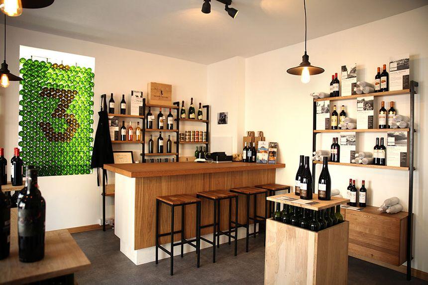 La boutique des 3 Pinardiers à Bordeaux