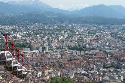 Vue de Grenoble (2017)