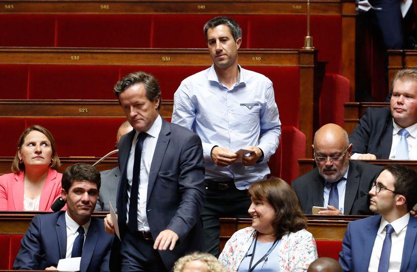 François Ruffin à l'Assemblée nationale le 27 juin 2017.