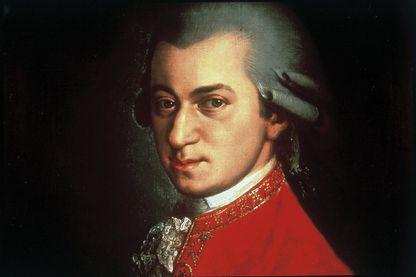 Amadeus Mozart par Johann Nepomuk della Croce