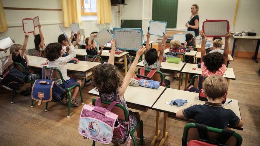Dans une salle de classe (photo d'illustration)
