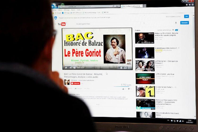 Comme ici sur une chaîne de livres audio, les bacheliers s'aident de plus en plus de YouTube pour réviser.