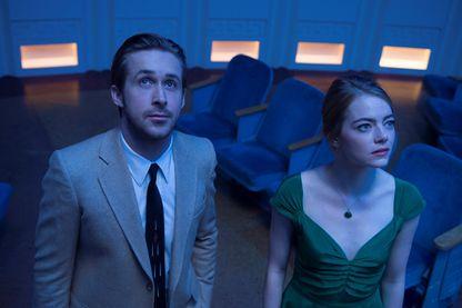 "Ryan Gosling et Emma Stone dans ""La La land"" de Damien Chazelle"