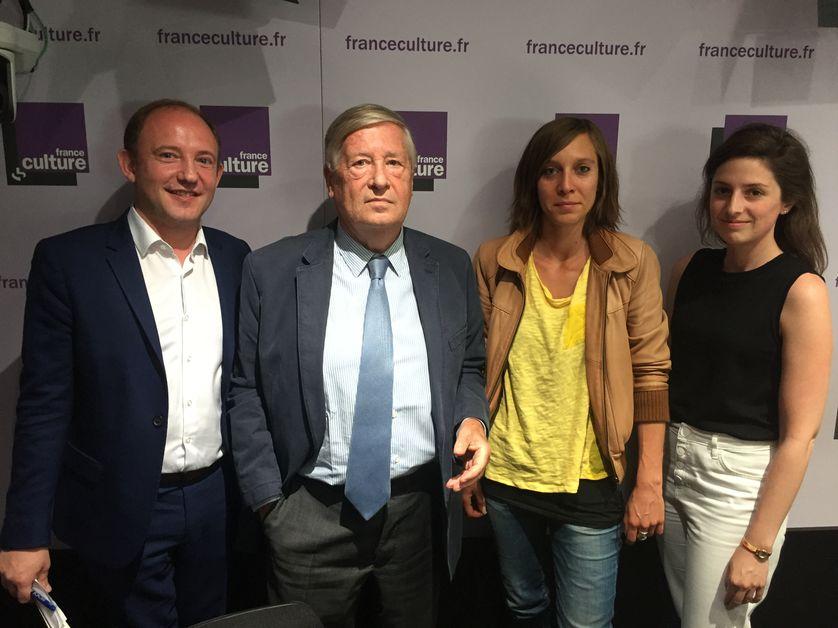 Alexis Lévrier, Alain Duhamel, Marion Lagardère, Elisabeth Zerofsky