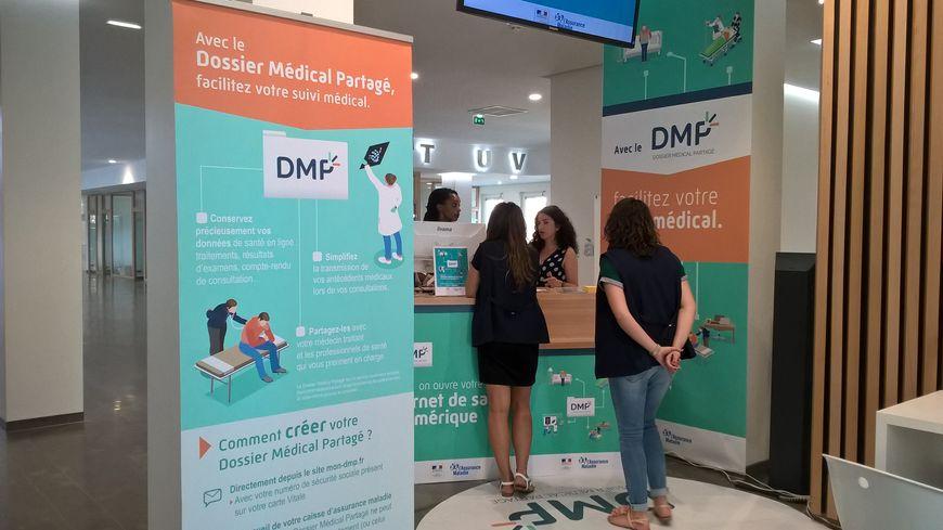 On peut ouvrir son Dossier Médical Partagé dans les agences de la CPAM de Haute-Garonne