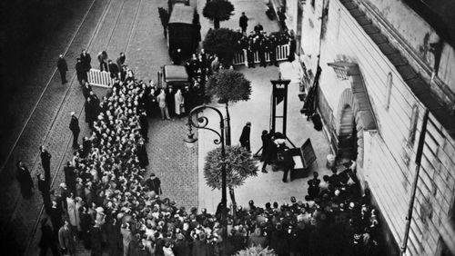 L'Affaire Weidmann : le dernier guillotiné en place publique (Versailles 1939)