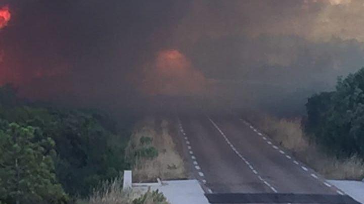Près de 400 hectares vdétruits par les flammes à Bonifacio