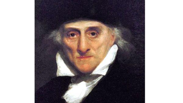 Portrait de Lorenzo Da Ponte dans les années 1830