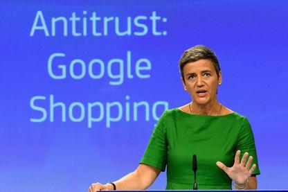 Margrethe Vestager vient d'infliger à Google une amende de 2,4 milliards d'euros pour abus de position dominante dans l'affaire de son comparateur de prix.