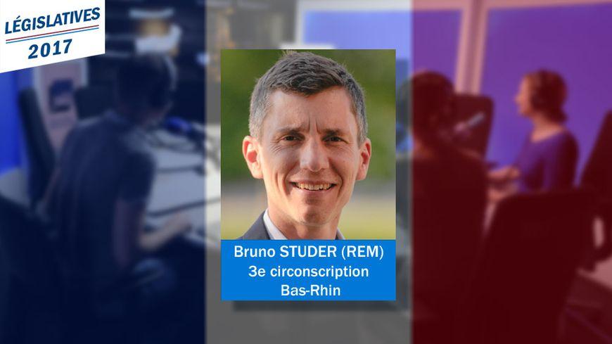 Bruno Studer, élu député du Bas-Rhin le 18 juin 2017 - Photo remise par le candidat