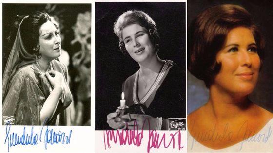 D'un âge à l'autre... Hommage à l'une des grandes sopranos du 20ème siècle, qui fêtera dans l'été ses 80 ans...