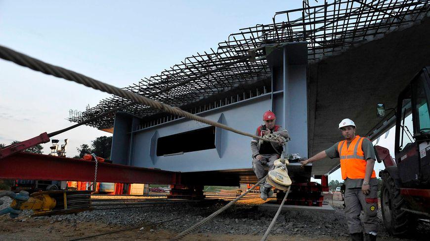 Dans la Sarthe, des travaux ont été réalisés à La Milesse pour la LGV Bretagne en 2013