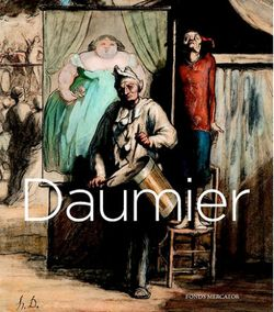 "Couverture du catalogue de l'exposition ""Daumier - Visions de Paris"" à Londres au Royal Academy of Arts ( 26.10.2013 - 26.01.2014)"