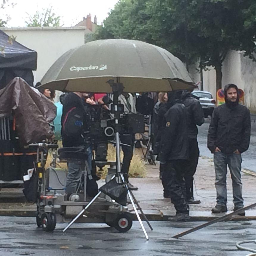 Des caméras sous la pluie