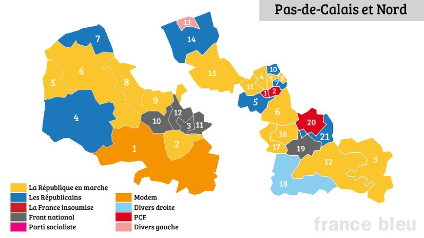 Legislatives 9 nord