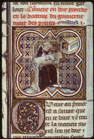 Gilles de Rome est l'un des principaux artisans de la bulle Unam sanctam