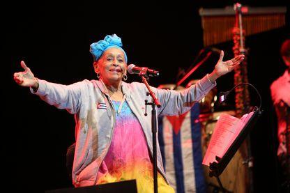 Omara Portuondo au festival de Jazz de Oeiras, Portugal - 26 juillet 2016