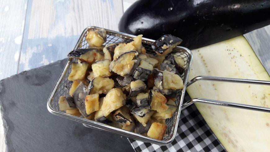 La recette des frites d'aubergines par Thomas Clament