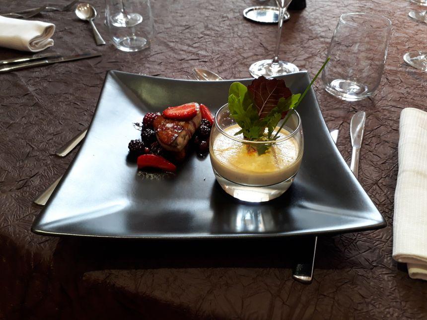 le duo de foie gras