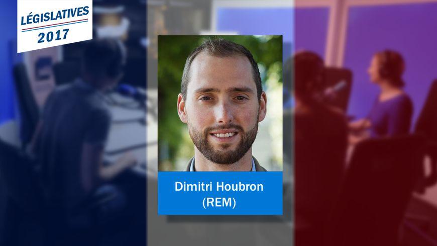 Dimitri Houbron, nouveau député REM de la 17e circonscription