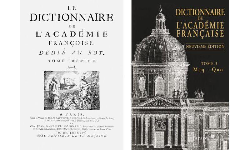 Plus de trois siècles séparent ces deux éditions (en 2011 chez Fayard pour le tome 3 de la neuvième)
