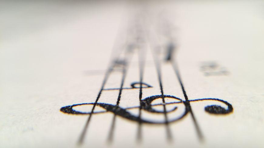 Partition musicale - Image d'illustration