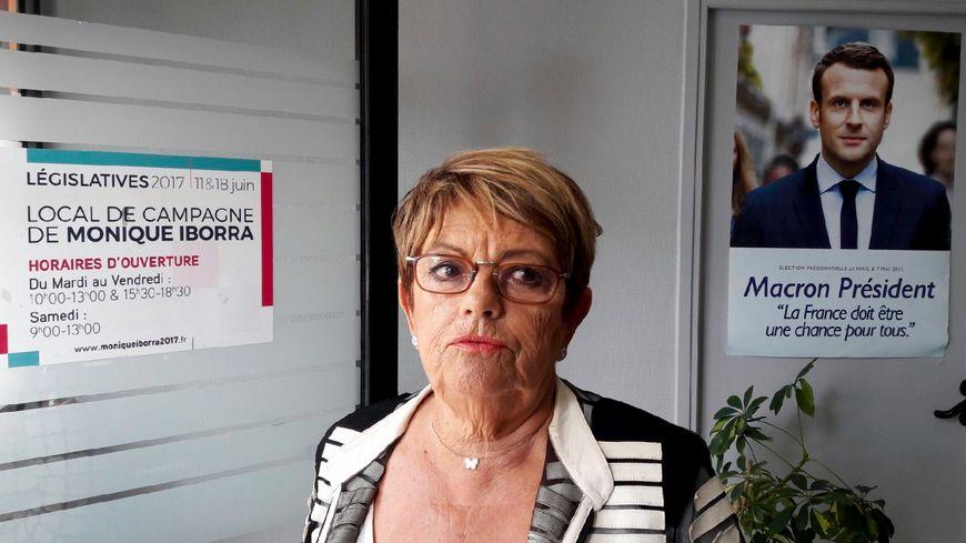 Monique Iborra, l'une des premières à avoir soutenu le mouvement d'Emmanuel Macron.
