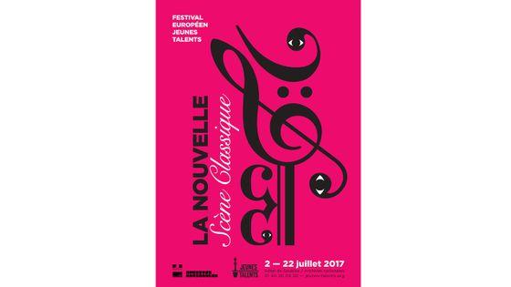 Affiche Festival Européen des jeunes talents - 2017