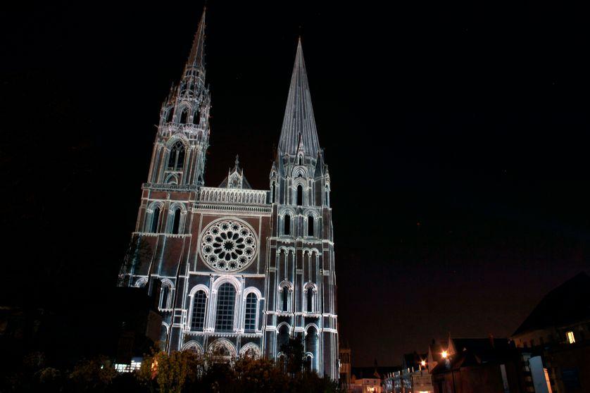 La Cathédrale de Chartres en lumières