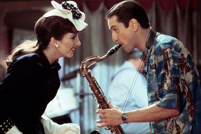 """Liza Minelli et Robert De Niro, plateau du film """"New York, New York"""" de Martin Scorsese"""