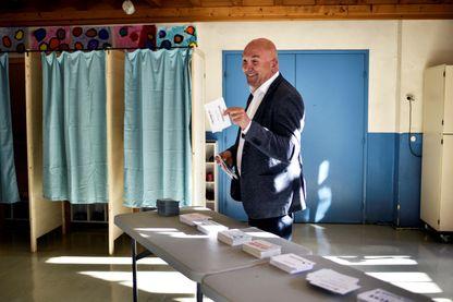 Bruno Bonnell, candidat du parti La république en Marche au premier tour des législatives