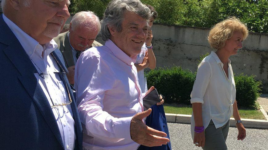 Jean-Louis Borloo est venu apporter son soutien et celui du Premier Ministre à Sophie Auconie