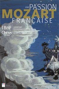 Roger Chapelain-Midy, projet de décor pour La Reine de la Nuit dans La Flûte enchantée, 1954. BnF, Musique, Bibliothèque-musée de l'Opéra