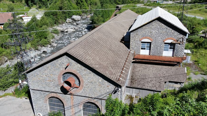 La centrale hydroélectrique de Riuopéroux, en Isère