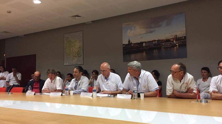 Les cardiologues se sont réunis pour une conférence de presse ce mercredi 14 juin.