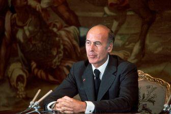 Valéry Giscard d'Estaing au Palais de l'Élysée, 1977